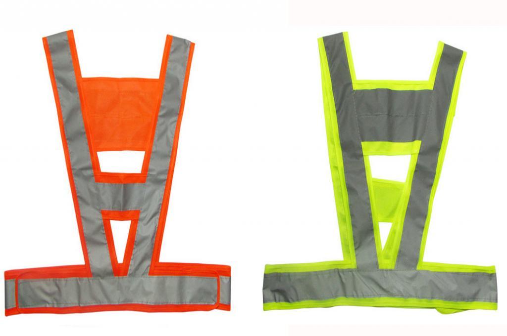 Dây áo phản quang nhựa 5cm kiểu chữ A,V - Bảo hộ lao động HANKO